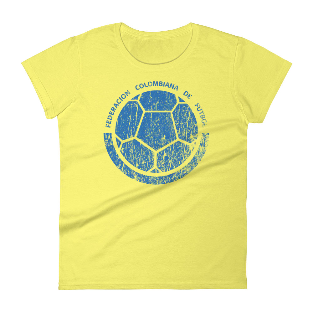 Colombia National Soccer Team Women 39 S T Shirt Futball