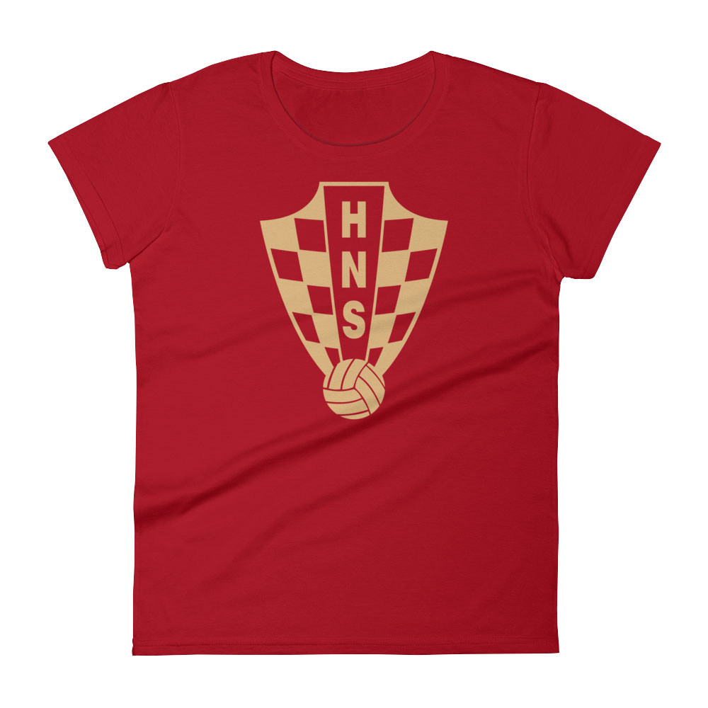 Croatia National Soccer Team Women 39 S T Shirt Futball Designs