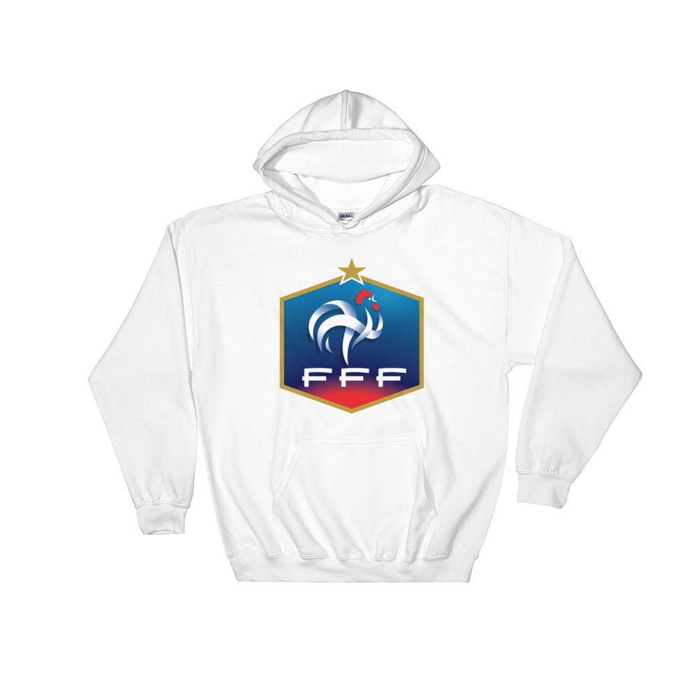 official photos 119b6 07993 France National Soccer Team Men's Hoodie