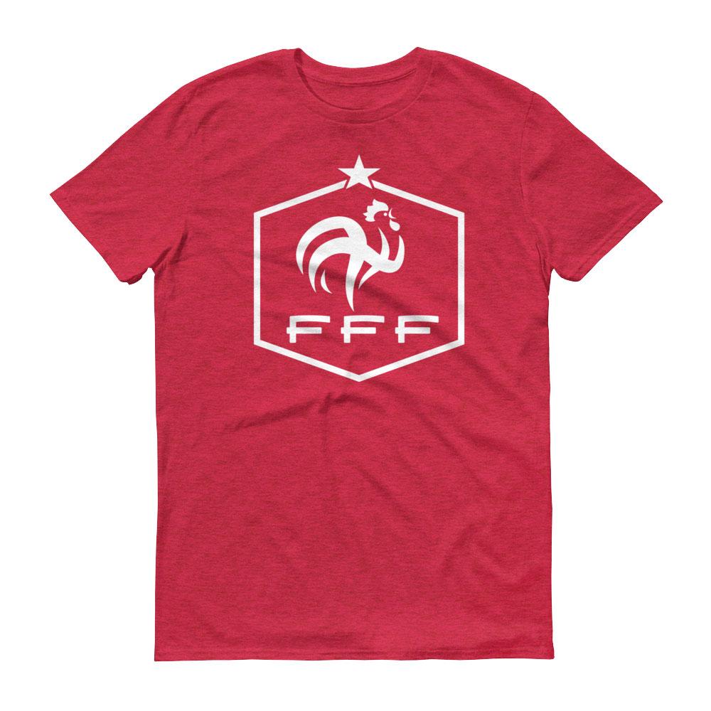 France national soccer team men 39 s t shirt futball designs for Football team t shirt designs