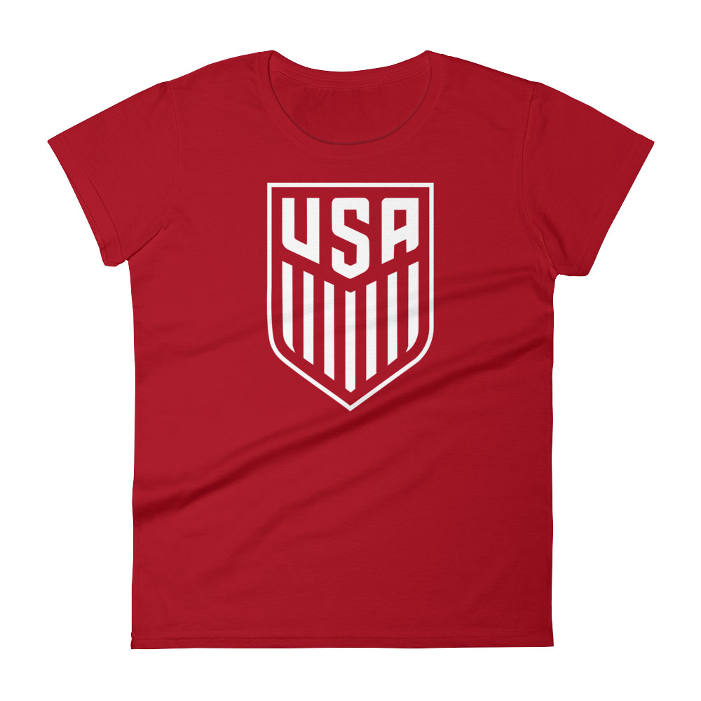 Womens Usa Soccer Tshirt Futball Designs