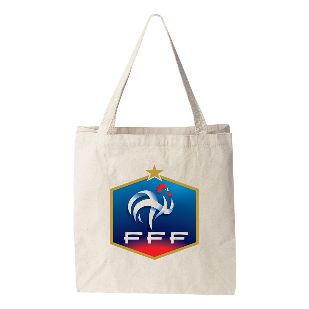 france national soccer team tote bag futball designs. Black Bedroom Furniture Sets. Home Design Ideas