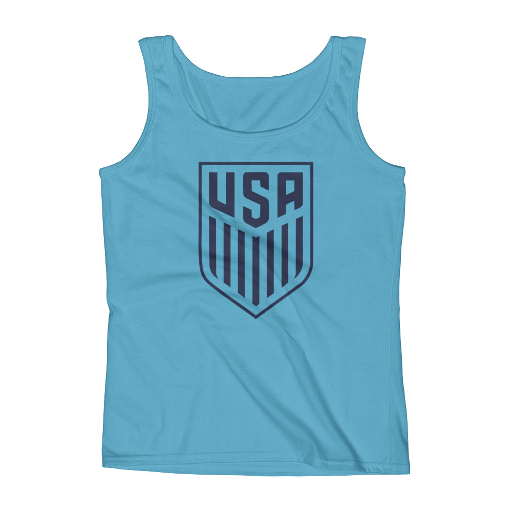 USA National Soccer Team Women s Tank Top - Futball Designs b1651bcb98