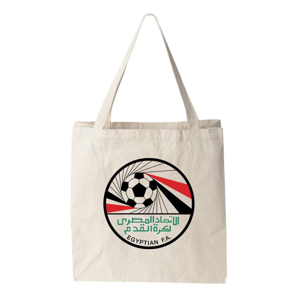 Egypt National Soccer Team Tote Bag Futball Designs