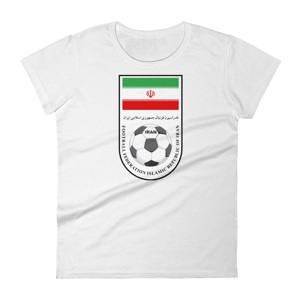 cheap for discount 5533d ec702 Iran National Soccer Team Women's T-shirt