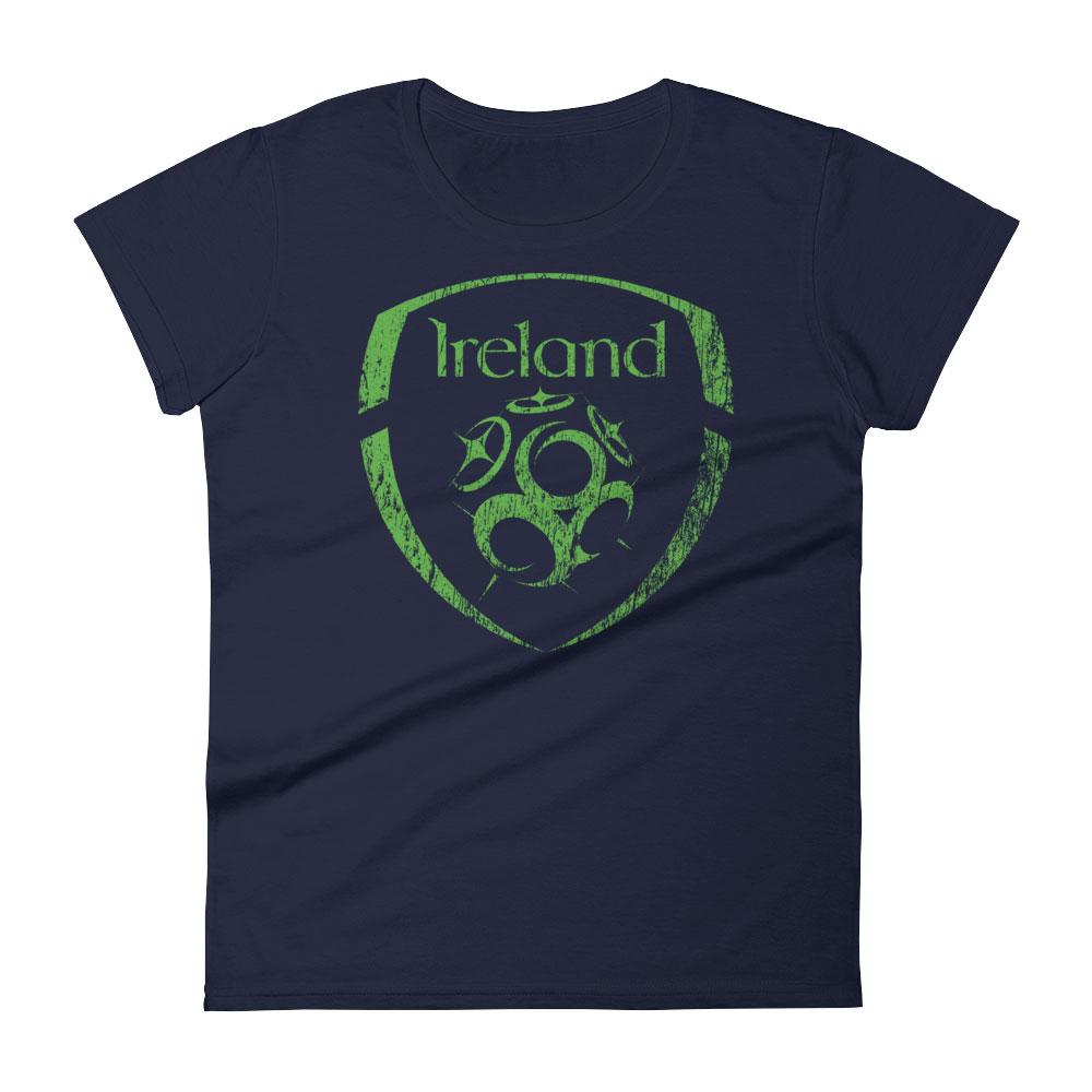 Ireland National Soccer Team Women's T-shirt - Futball Designs
