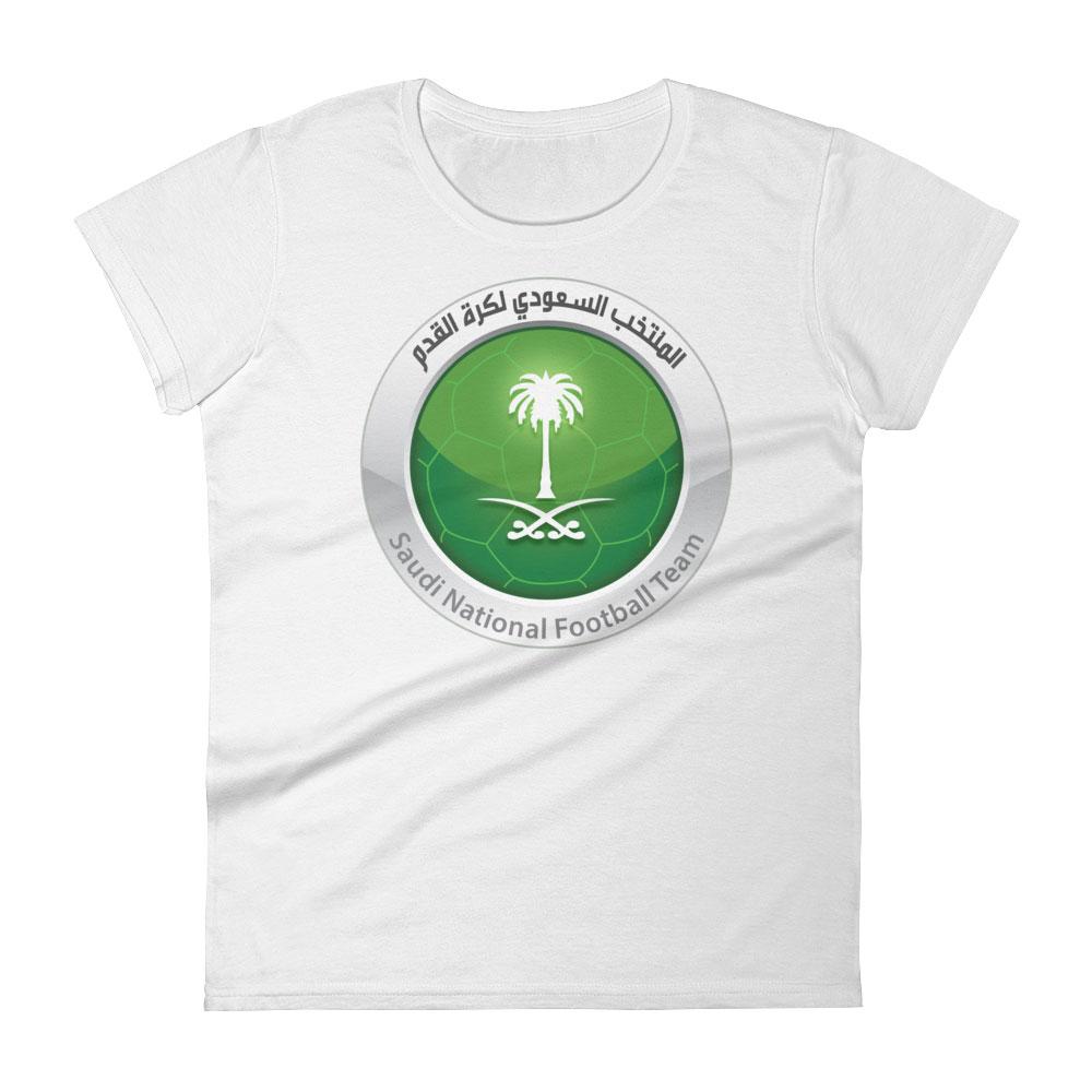 online retailer 12549 9c9ad Saudi Arabia National Soccer Team Women's T-shirt